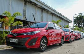 Toyota PH donates 17 Vios units to DOH
