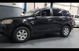Selling Black Chevrolet Captiva 2008 SUV / MPV in Quezon City