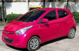 Pink Hyundai Eon for sale in Manila