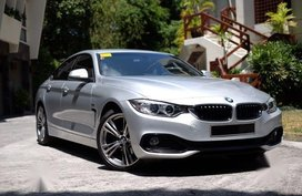 Sell Silver Bmw 420D in Quezon City