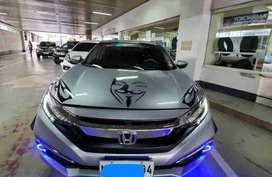 Silver Honda Civic for sale in Manila