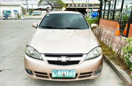Gold Chevrolet Optra 2008 for sale in Manila
