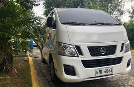 White Nissan Nv350 urvan for sale in Parañaque