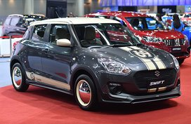 This Suzuki Swift from Thailand looks sophisticatedly gorgeous