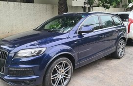 Blue Audi Quattro 2013 for sale in Pasig City