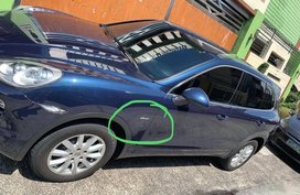 Blue Porsche Cayenne for sale in Quezon city
