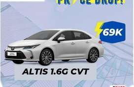 Silver Toyota Corolla altis for sale in Taguig