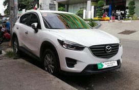 White Mazda Cx-5 for sale in Davao
