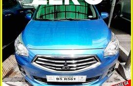 Selling Blue Mitsubishi Mirage g4 for sale in Valenzuela