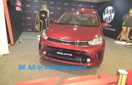 Red Kia Soluto for sale in Pasay city