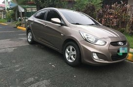 Silver Hyundai Accent for sale in Manila