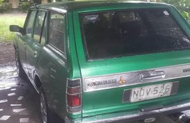 Selling Green Mitsubishi Galant in Dauin