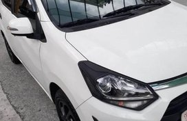 White Toyota Wigo for sale in Manila