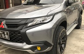 Silver Mitsubishi Pajero for sale in Manila