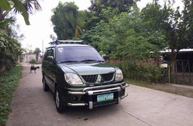 Green Mitsubishi Adventure 2006 for sale in Manila