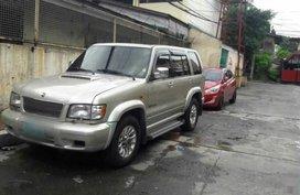 Sell Silver 2003 Isuzu Trooper in Manila