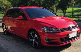 Selling Red Volkswagen Golf for sale in Antipolo