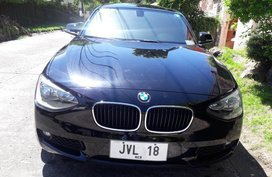 Black Bmw 116i for sale in Parañaque