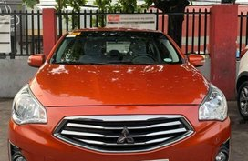 Selling Orange Mitsubishi Mirage g4 for sale in Marikina