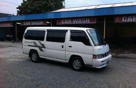 Sell White 2010 Nissan Urvan Van for sale in Manila