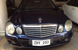 Black Mercedes-Benz E-Class for sale in Manila