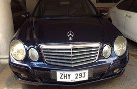 Black Mercedes-Benz E-Class for sale in Manila