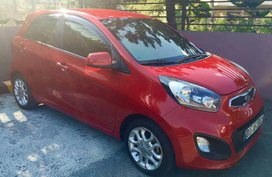 Red Kia Picanto for sale in Quezon city