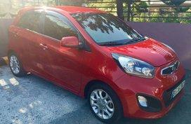 Red Kia Picanto for sale in Quezon city