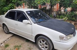 Sell White Toyota Corolla in Padre Garcia