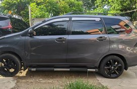 Grey Toyota Avanza for sale in Quezon City
