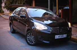Black Mitsubishi Mirage g4 for sale in Quezon City