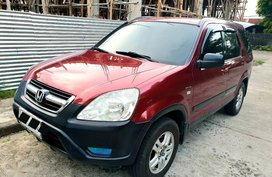 Red Honda Cr-V for sale in Bacolod City