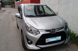 Silver Toyota Wigo for sale in Manila