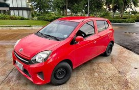 Selling Red Toyota Wigo for sale in Cainta