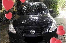 Black Nissan Almera for sale in Cebu