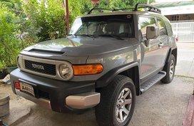 Silver Toyota Fj Cruiser for sale in Las Piñas