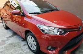 Selling Red Toyota Vios 2017 in Manila