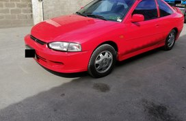 Red Mitsubishi Lancer 1997 for sale in Manual