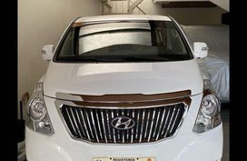 White Hyundai Grand starex for sale in Quezon city