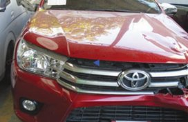 Sell Red Toyota Hilux in Bacolod