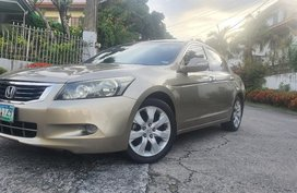 Grey Honda Accord 2008 for sale in Paranaque City
