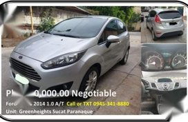 Sell Silver Ford Fiesta in Parañaque