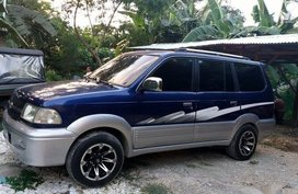Blue Toyota Aa 2002 for sale in Manila