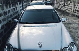 Sell Silver Mercedes-Benz C200 in Las Piñas