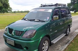 Green Mitsubishi Adventure 2008 for sale in Manila
