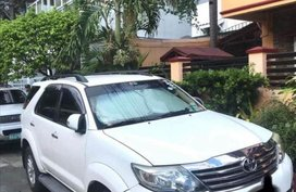 Sell White Toyota Fortuner in Pasay