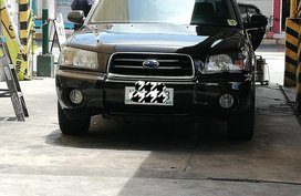 Black Subaru Forester for sale in Manila
