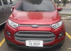 Red Ford Ecosport for sale in Manila