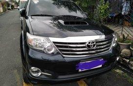 Black Toyota Fortuner for sale in San Juan