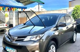 Grey Toyota Rav4 2013 for sale in Manila